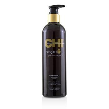 CHI Argan Oil Plus Moringa Oil Shampoo - Sulfate & Paraben Free 340ml/11.5oz Hair Care