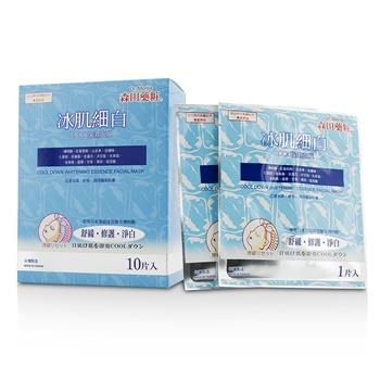 Dr. Morita Cool Down Whitening Essence Facial Mask 10pcs Skincare