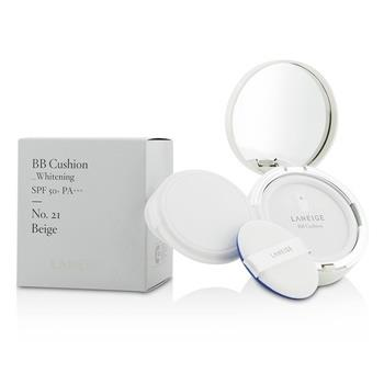 Laneige BB Cushion Foundation (Whitening) SPF 50 With Extra Refill - # No. 21 Natural Beige 2x15g/0.5oz Make Up