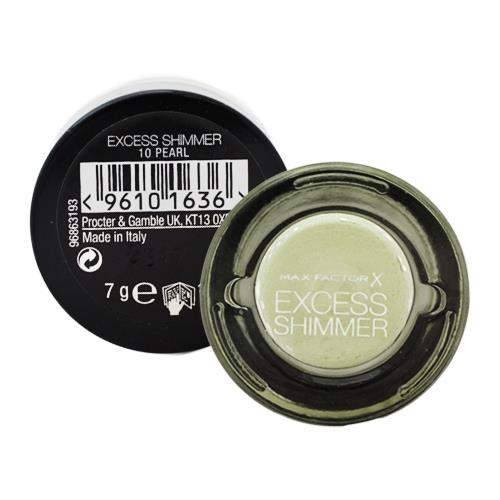 Max Factor Eyeshadow Excess Shimmer 10 Pearl 7g
