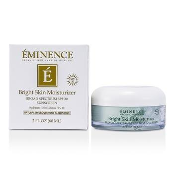 Eminence Bright Skin Moisturizer Broad Spectrum SPF 30 Sunscreen 60ml/2oz Skincare
