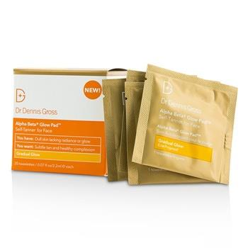 Dr Dennis Gross Alpha Beta Glow Pad For Face - Gradual Glow 20 Towelettes Skincare