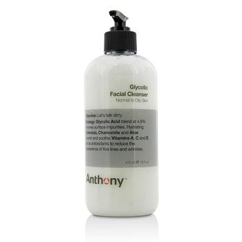 Anthony Logistics For Men Glycolic Facial Cleanser 473ml/16oz Men's Skincare