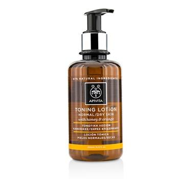 Apivita Toning Lotion With Honey and Orange – For Normal Or Dry Skin 200ml/6.8oz Skincare