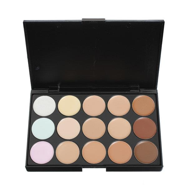 15 Colors Flawless Makeup Concealer Foundation Palette