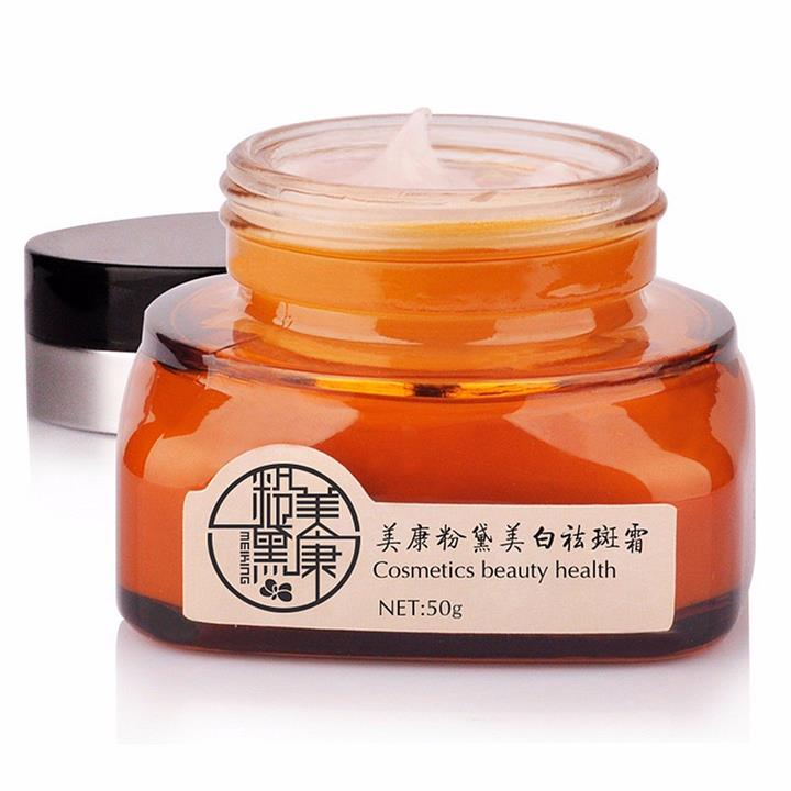 Chinese Herbal Face Fade Dark Spots Melanin Chloasma Freckle Removing Cream Facial Whitening