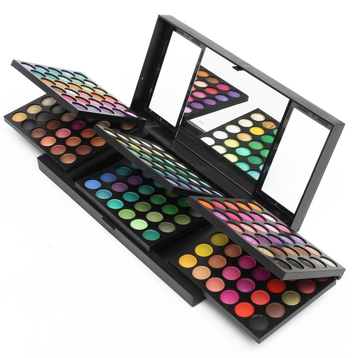 180 Colors/Set Professional Eye Shadow Palette Eyeshadow Cosmetic Makeup With Mirror Set