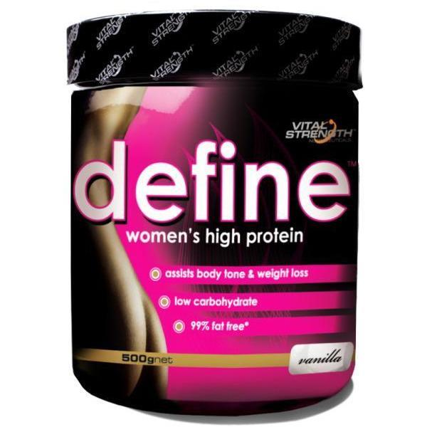 Vital Strength Define Womens Protein Powder 500g
