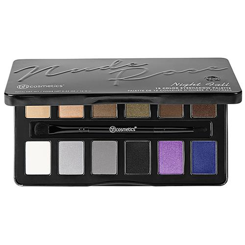 BH Cosmetics Nude Rose Night Fall 12 Color Eyeshadow Palette