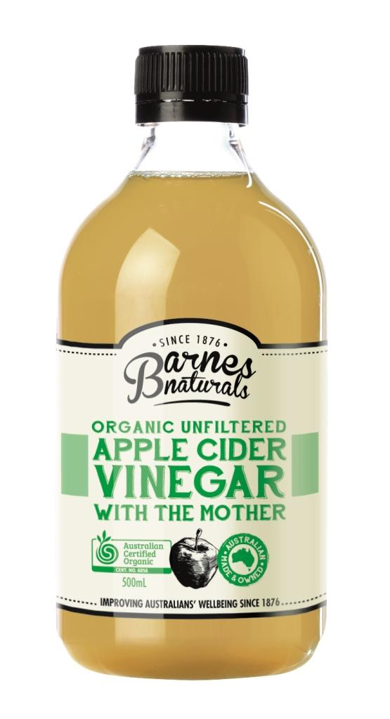 Barnes Naturals Organic Vinegar & The Mother 500ml