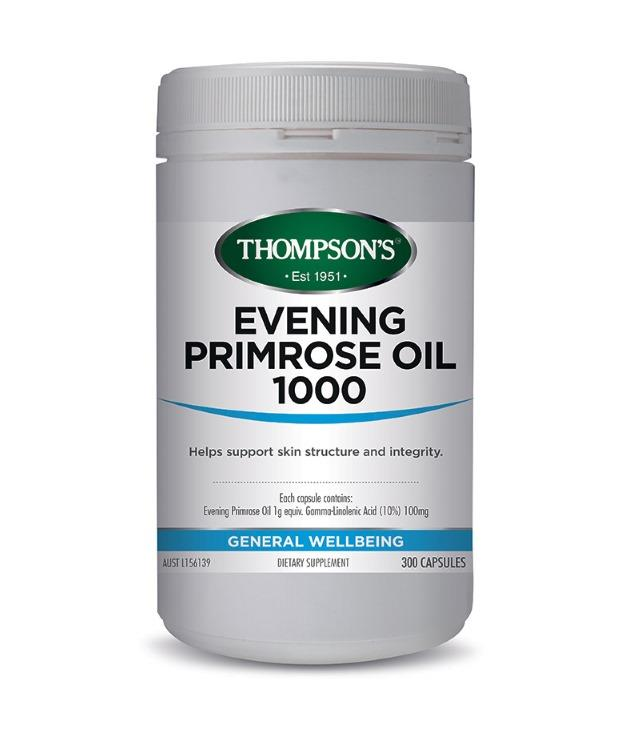 Thompson's Evening Primrose Oil 1000mg Cap X 300