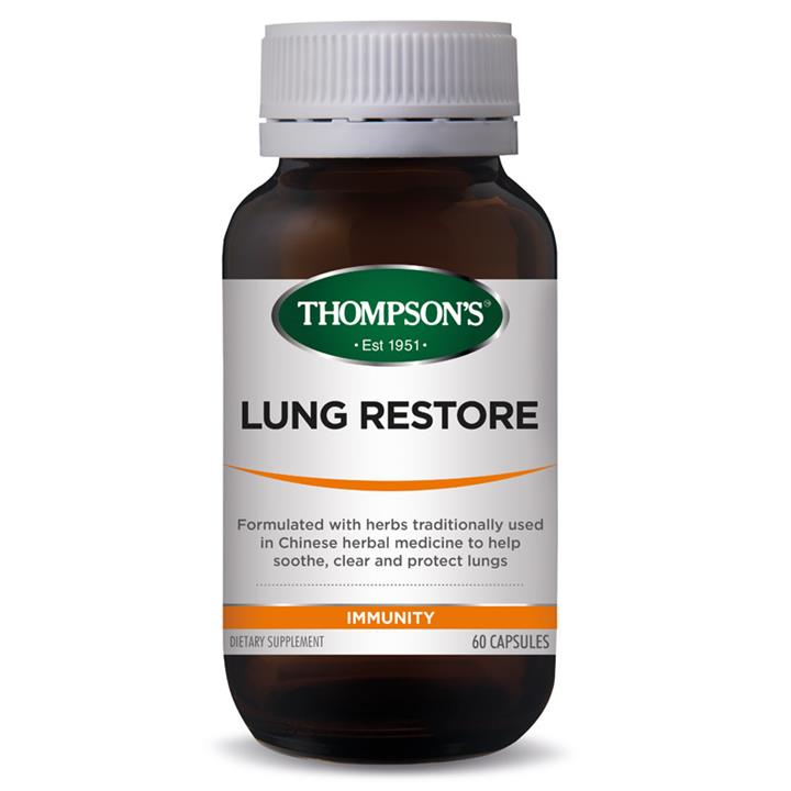 Thompson's Lung Restore Cap X 60