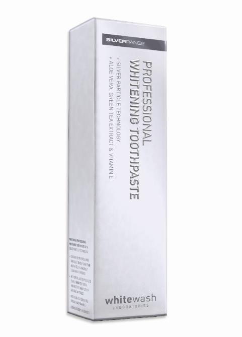 WhiteWash Whitening Toothpaste with Silver Particles 125ml