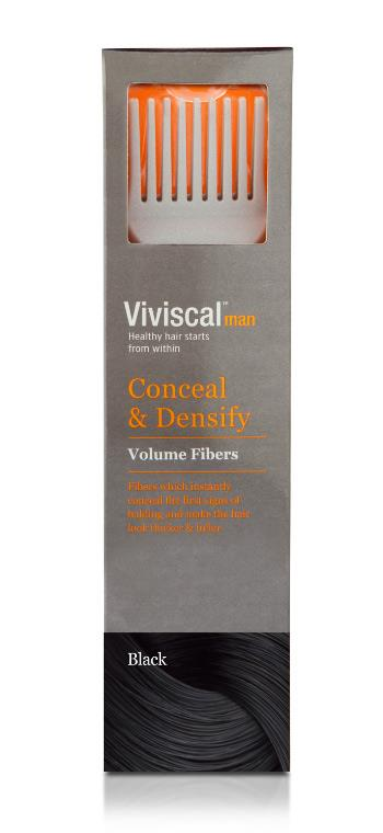 Viviscal Volume Black Hair Fibers (Male) 15g
