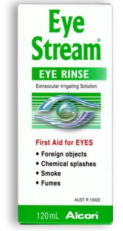 Alcon Eye Stream Eye Rinse Solution 120ml