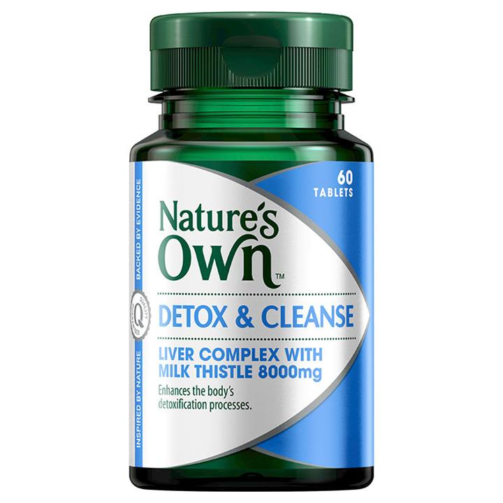 Nature's Own Detox & Cleanse Tab X 60