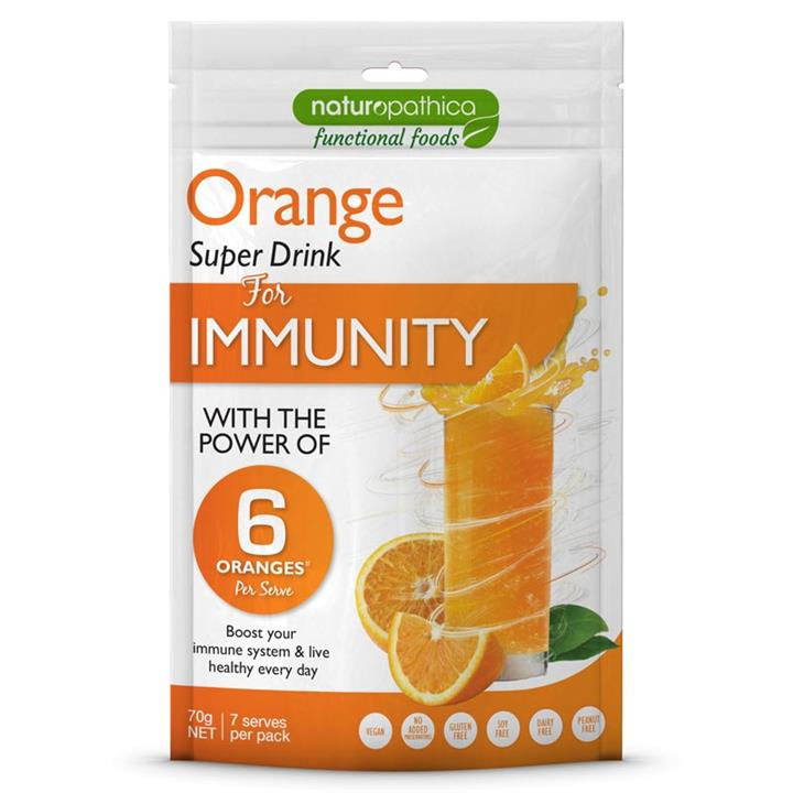Naturopathica Functional Foods Orange Super Drink for Immunity 70g
