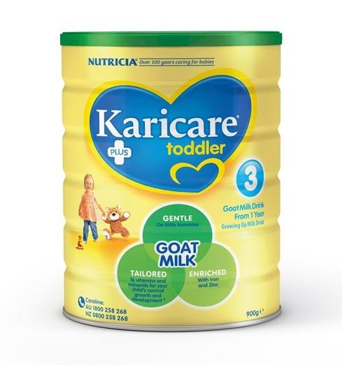 Karicare Plus 3 Goat Milk Toddler Formula (From 1 Year) 900g – LIMIT 2 CANS PER ORDER