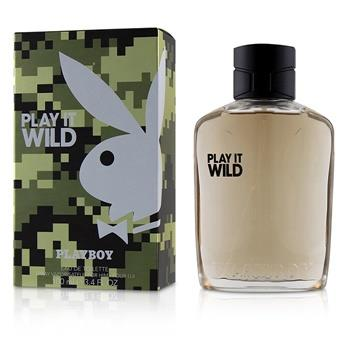 Playboy Play It Wild Eau De Toilette Spray 100ml/3.4oz Men's Fragrance