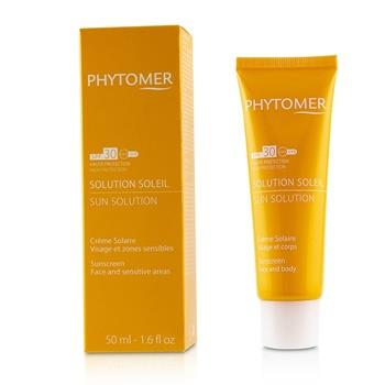 Phytomer Sun Solution Sunscreen SPF 30 (For Face and Sensitive Areas) 50ml/1.6oz Skincare