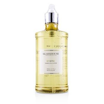 Glasshouse Hand Wash - Kyoto (Camellia & Lotus) 500ml/17oz Ladies Fragrance