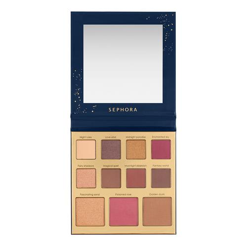 Sephora Collection The Enchanting Colors   Eye & Face Palette (Limited Edition 2018)