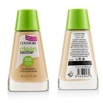Covergirl Clean Sensitive Liquid Foundation Duo Pack - # 535 Medium Light 2x30ml/1oz Make Up
