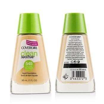 Covergirl Clean Sensitive Liquid Foundation Duo Pack - # 545 Warm Beige 2x30ml/1oz Make Up