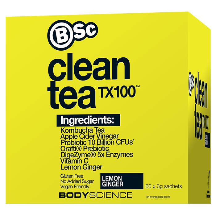Body Science BSc Clean Tea TX100 60 x 3g Sachets