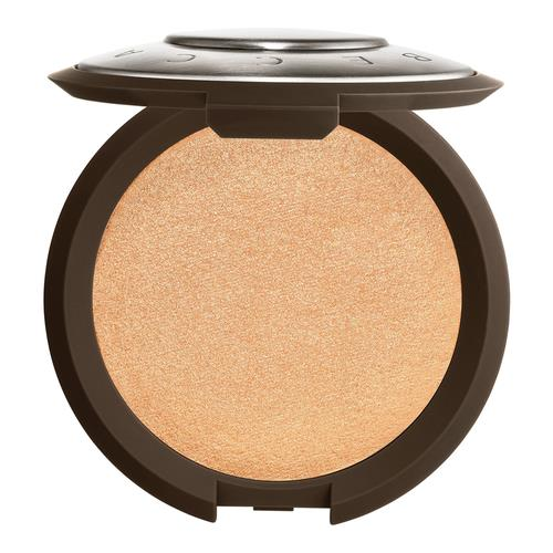 BECCA Shimmering Skin Perfector Pressed Highlighter Champagne Pop (soft gold with pinky-peach pearl)