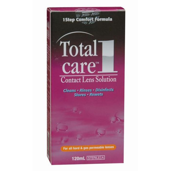 Total Care 1 Contact Lens Solution 120ml