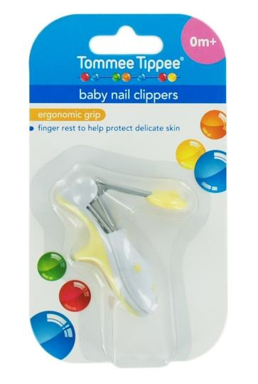 Tommee Tippee Baby Nail Clippers (Assorted Colours)