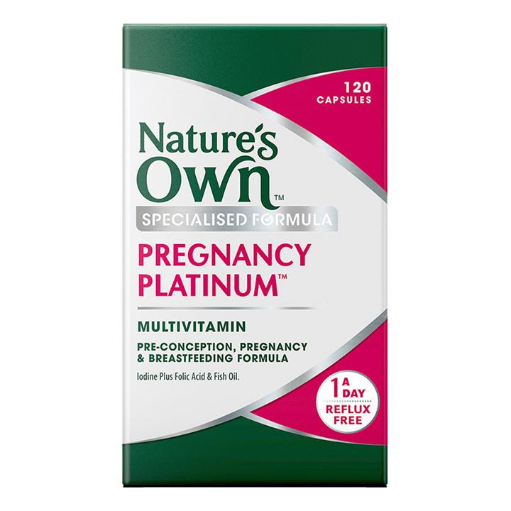 Nature's Own Pregnancy And Lactation Platinum Multivitamin Cap X 120