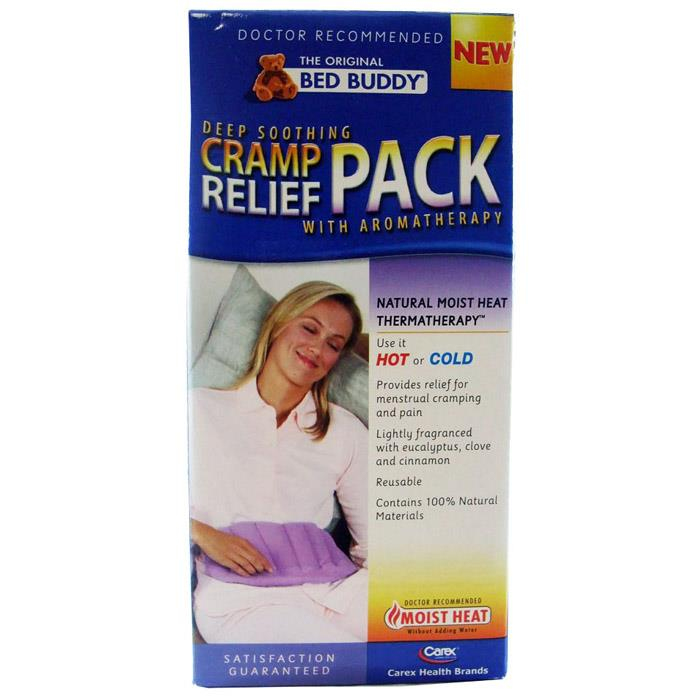 Bed Buddy Cramp Relief Pack With Aromatherapy