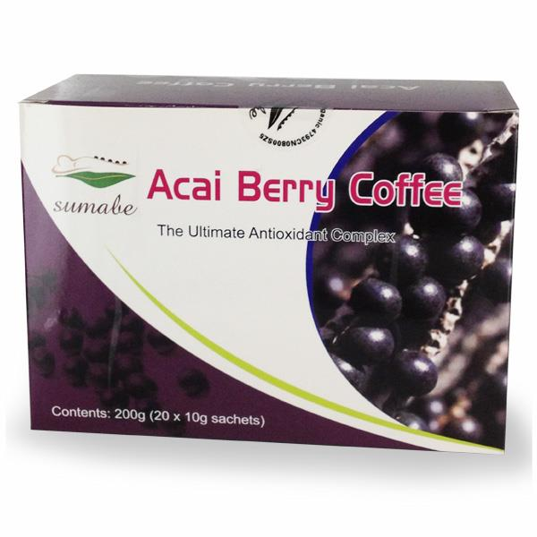 Sumabe Acai Berry Coffee For Slimmers 200g (10g Sachets X 20)