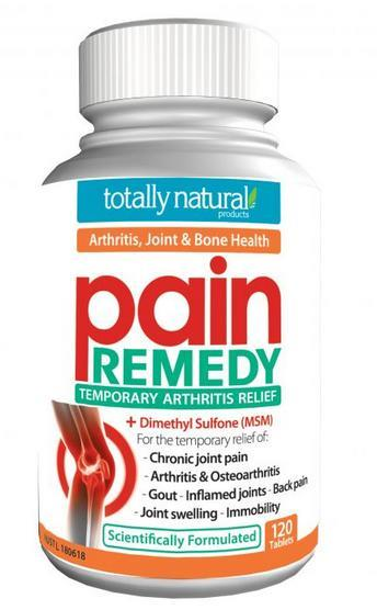 Totally Natural Pain Remedy Tab X 120