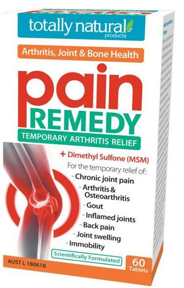 Totally Natural Pain Remedy Tab X 60