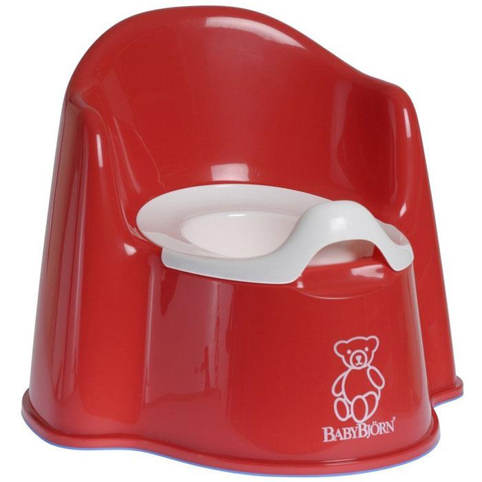 BabyBjorn Potty Chair – Bright Red