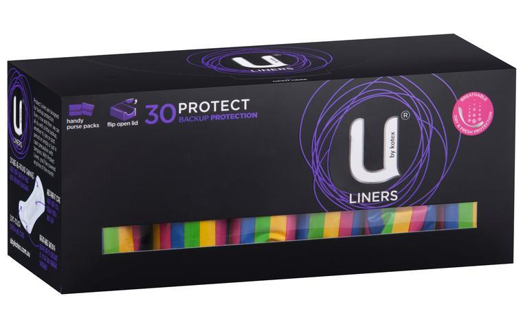 U By Kotex Protect Liners X 30