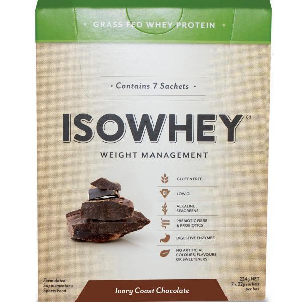 IsoWhey Complete Weight Loss – Ivory Coast Chocolate Sachets 35g X 7