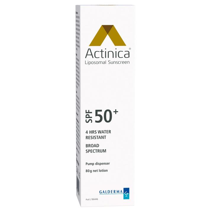 Actinica Sunscreen SPF 50+ 80g