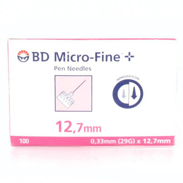 BD Insulin Pen Needle Micro-Fine 29 Gauge (0.33mm) X 12.7mm X 100