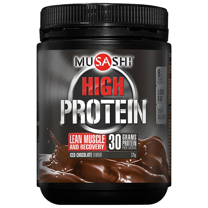 Musashi P30 High Protein Powder Iced Chocolate 375g (Best Before 10/2/18)