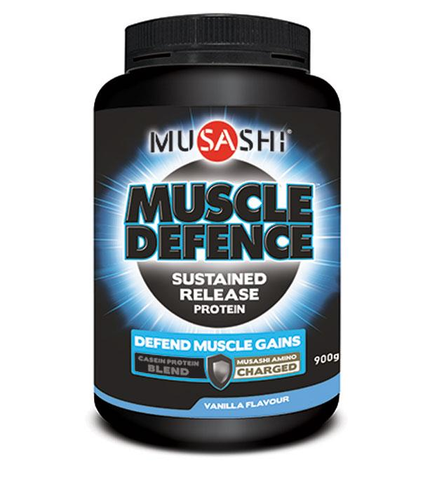 Musashi Muscle Defence Sustained Release Protein Vanilla 900g