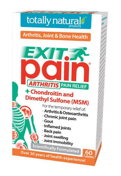 Totally Natural Exit Pain Tab X 60