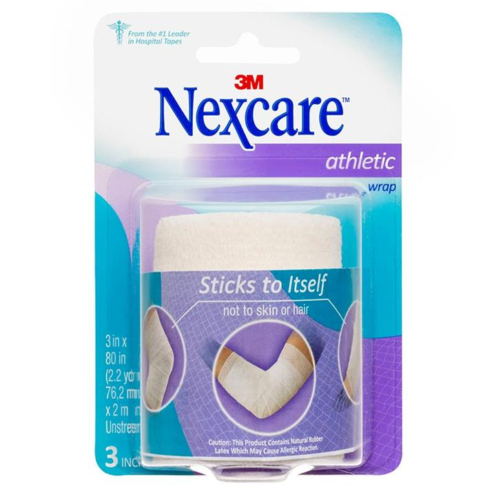 Nexcare Athletic Wrap White 75mm X 2m (Unstretched)