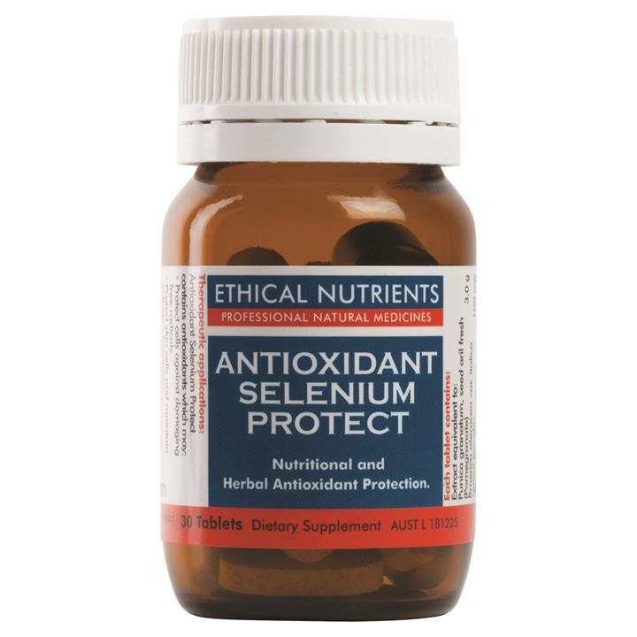 Ethical Nutrients Antioxidant Selenium Protect Tab X 30