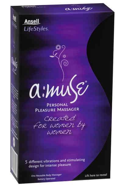 Ansell a:muse Personal Pleasure Massager