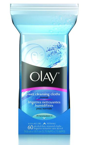 Olay Deep Cleansing Wet Cleansing Cloths Normal X 60