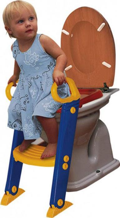 Bambino Step Toilet Trainer (Blue/Yellow/Red)